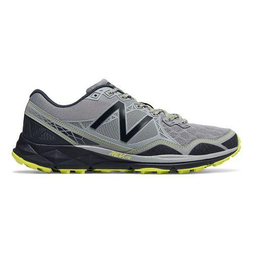 Mens New Balance 910v3 Trail Running Shoe - Grey/Yellow 9