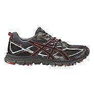 Mens ASICS GEL-Scram 3 Trail Running Shoe - Grey/Red Clay 13