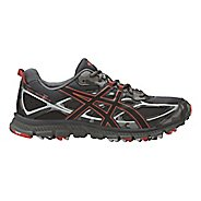 Mens ASICS GEL-Scram 3 Trail Running Shoe - Grey/Red Clay 9