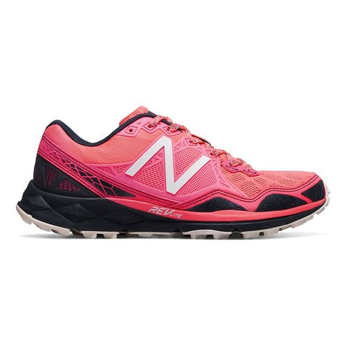 Womens New Balance 910v3 Trail Running Shoe - Pink/Grey 10.5