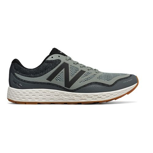 Mens New Balance Fresh Foam Gobi Trail Running Shoe - Green/Grey 10