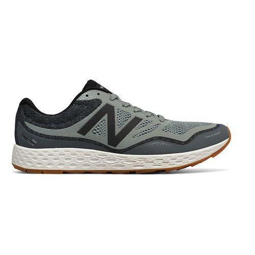 Mens New Balance Fresh Foam Gobi Trail Running Shoe - Green/Grey 8.5