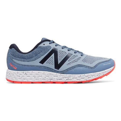 Mens New Balance Fresh Foam Gobi Trail Running Shoe - Blue/Orange 15