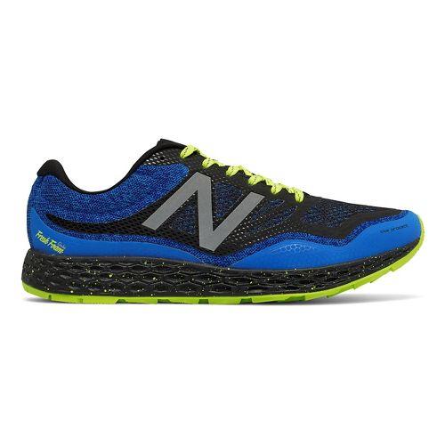 Mens New Balance Fresh Foam Gobi Trail Running Shoe - Blue/Yellow 13