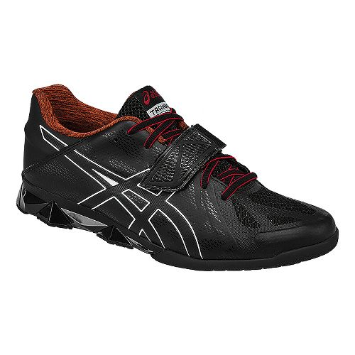 Mens ASICS Lift Master Lite Cross Training Shoe - Black/Red 10.5