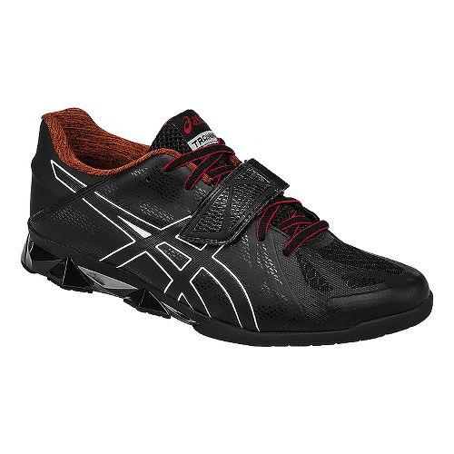 Mens ASICS Lift Master Lite Cross Training Shoe - Black/Red 12.5