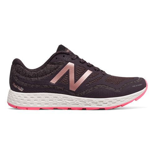 Womens New Balance Fresh Foam Gobi Trail Running Shoe - Grey/Pink 10.5