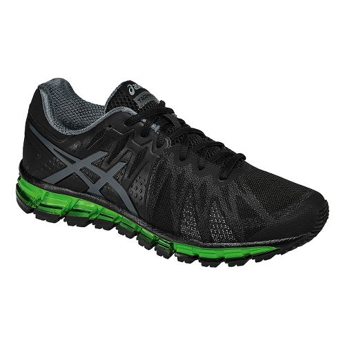 Mens ASICS GEL-Quantum 180 TR Cross Training Shoe - Black/Green 8