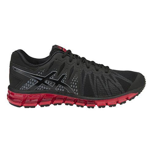 Mens ASICS GEL-Quantum 180 TR Cross Training Shoe - Black/Vermilion 12