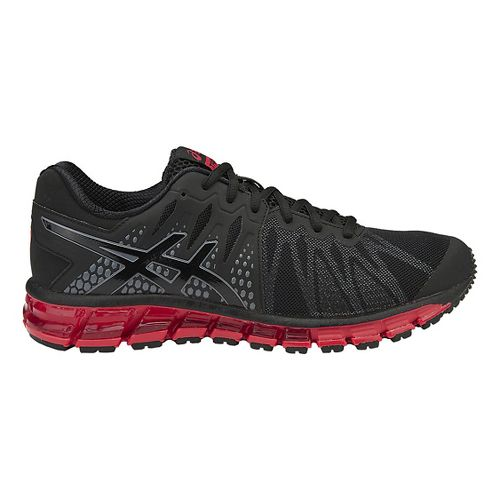 Mens ASICS GEL-Quantum 180 TR Cross Training Shoe - Black/Vermilion 9.5