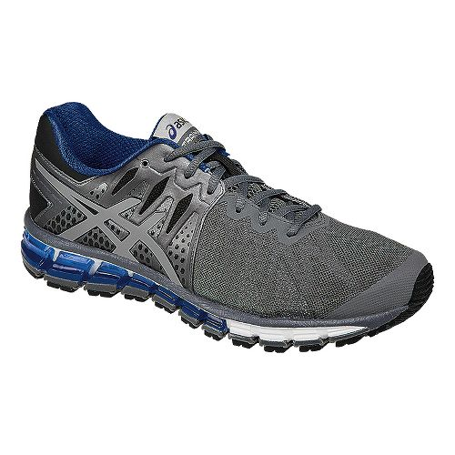 Mens ASICS GEL-Quantum 180 TR Cross Training Shoe - Grey/Blue 7.5