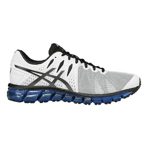 Mens ASICS GEL-Quantum 180 TR Cross Training Shoe - White/Black 7.5