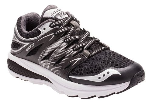 Kids Saucony Zealot 2 Running Shoe - Black 1Y