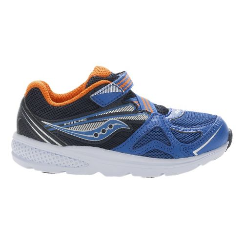 Kids Saucony Baby Ride Running Shoe - Blue/Orange 7.5C