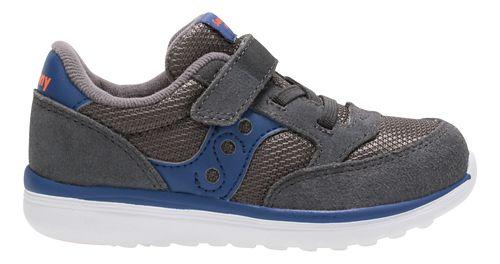Kids Saucony Baby Jazz Lite Casual Shoe - Grey/Blue 5C