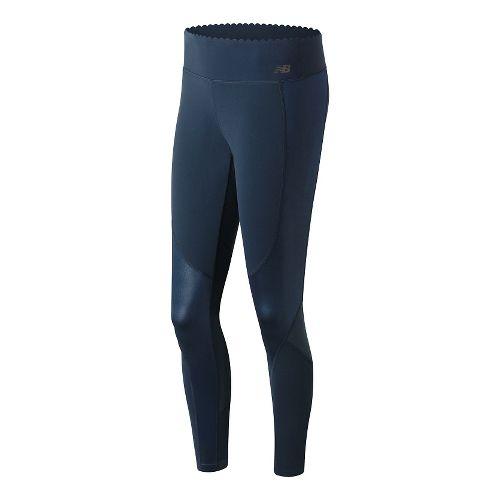 Womens New Balance Fashion Intensity Tights & Leggings Pants - Galaxy L