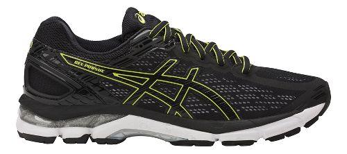 Mens ASICS GEL-Pursue 3 Running Shoe - Black/Green 14