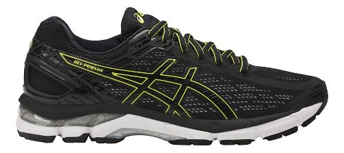 Mens ASICS GEL-Pursue 3 Running Shoe - Black/Green 9.5