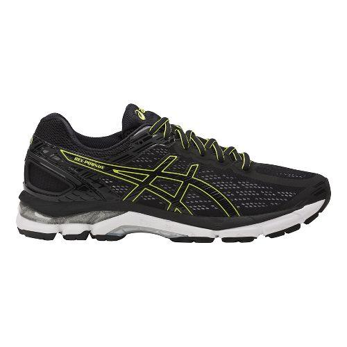 Mens ASICS GEL-Pursue 3 Running Shoe - Black/Green 9.5