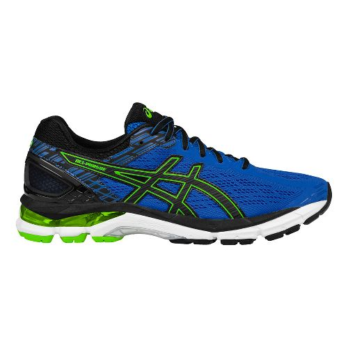 Mens ASICS GEL-Pursue 3 Running Shoe - Blue/Green 10