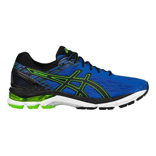 Mens ASICS GEL-Pursue 3 Running Shoe - Blue/Green 9.5