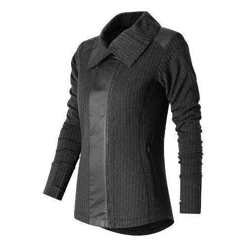 Womens New Balance Novelty Heat Lightweight Jackets - Black L