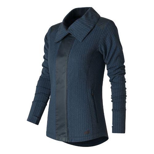 Womens New Balance Novelty Heat Lightweight Jackets - Galaxy S
