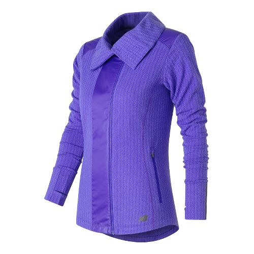 Womens New Balance Novelty Heat Lightweight Jackets - Spectral S