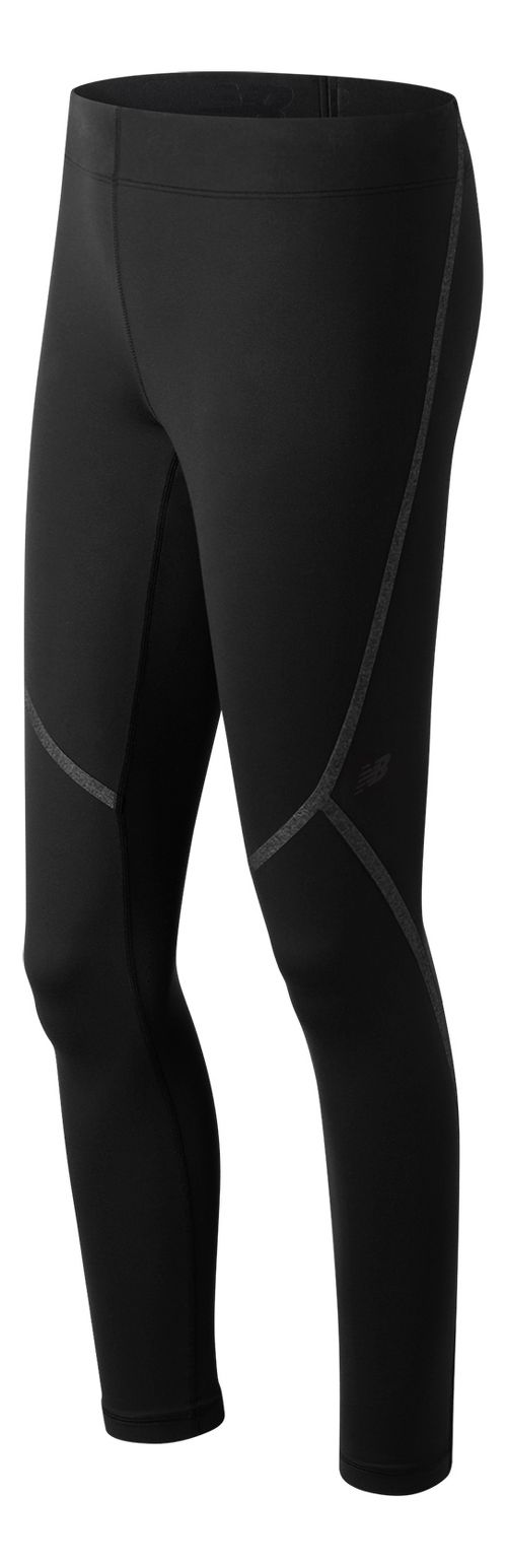 Womens New Balance Trinamic Tights & Leggings Pants - Black S