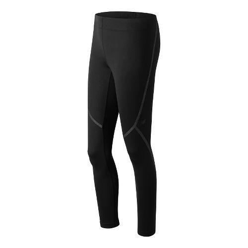 Womens New Balance Trinamic Tights & Leggings Pants - Black S