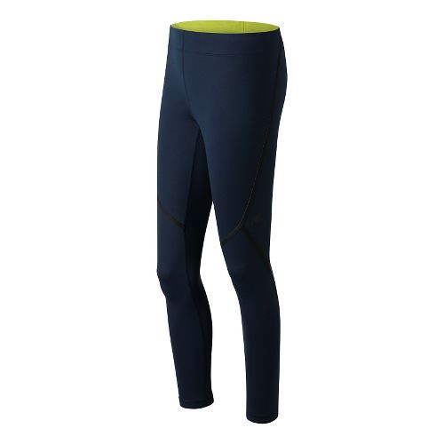 Womens New Balance Trinamic Tights & Leggings Pants - Galaxy M