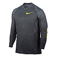 Mens Nike Pro Hyperwarm Long Sleeve Technical Tops