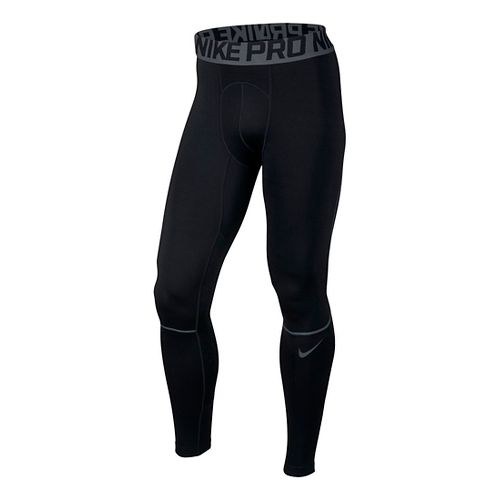 Mens Nike Pro Hyperwarm Tights & Leggings - Black/Dark Grey L