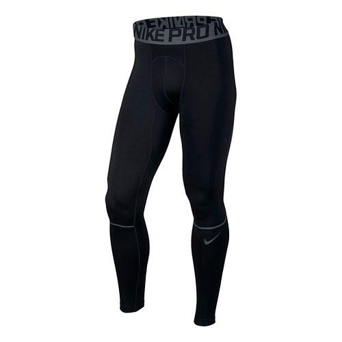 Mens Nike Pro Hyperwarm Tights & Leggings - Black/Dark Grey M