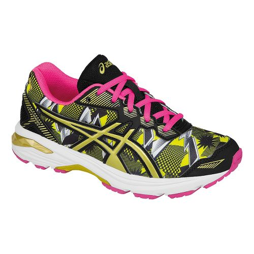 Kids ASICS GT-1000 5 GR Running Shoe - White/Gold 4Y