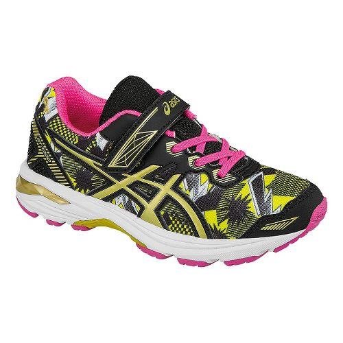 Kids ASICS GT-1000 5 GR Running Shoe - White/Gold 2Y
