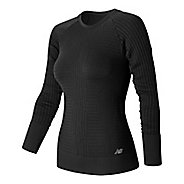 Womens New Balance M4M Seamless Long Sleeve Non-Technical Tops