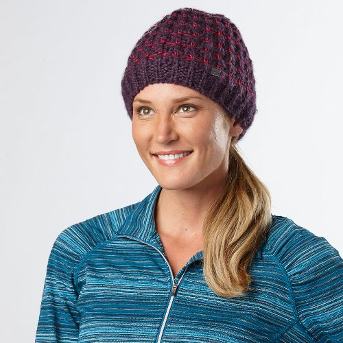 Womens R-Gear Knit Ready Beanie Headwear - Lets Jam/Ruby
