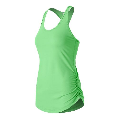 Womens New Balance Perfect Sleeveless & Tank Technical Tops - Agave Heather L