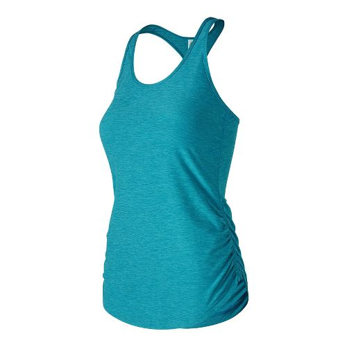 Womens New Balance Perfect Sleeveless & Tank Technical Tops - Black S