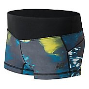 Womens New Balance Premium Performance Hot Print Shorts