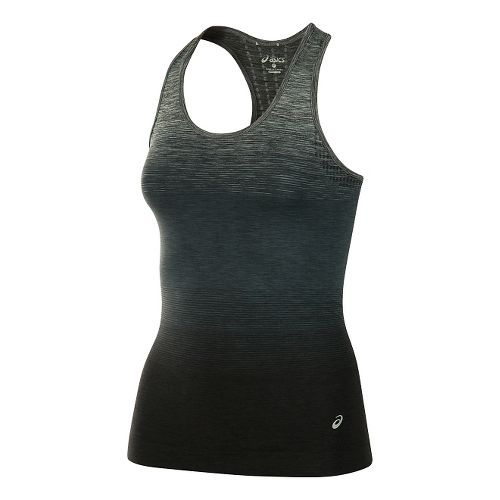 Womens ASICS Seamless Sleeveless & Tank Tops Technical Tops - Black M