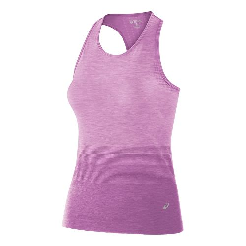 Womens ASICS Seamless Sleeveless & Tank Tops Technical Tops - Orchid S