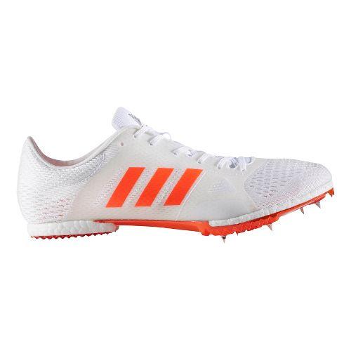 adidas Adizero MD Track and Field Shoe - White/Red 12.5