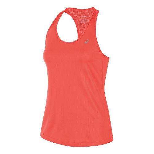 Womens ASICS Emma Racerback Sleeveless & Tank Technical Tops - Red XL