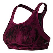 Womens New Balance The Shapely Shaper Print Sports Bras