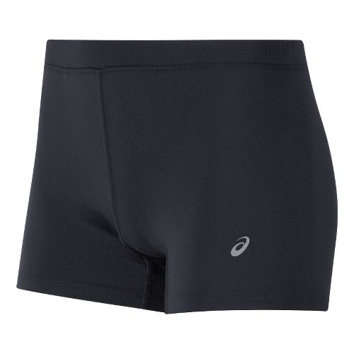 Womens ASICS Booty Compression & Fitted Shorts - Black L