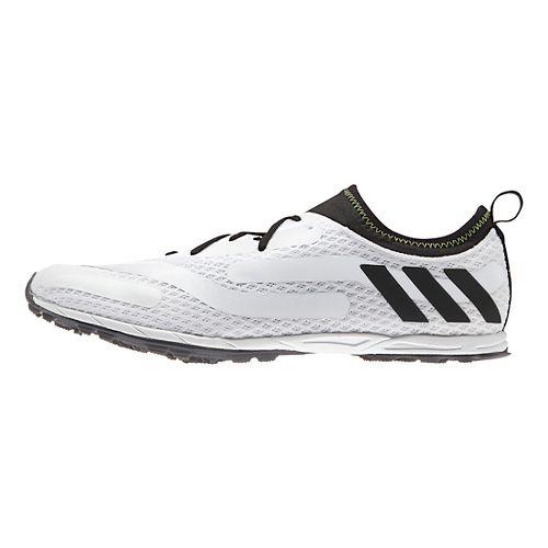 Mens adidas XCS Cross Country Shoe - White/Black 9.5