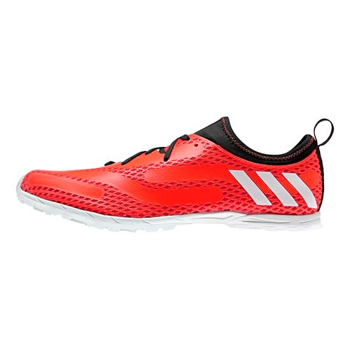 Mens adidas XCS Cross Country Shoe - Red/White 8.5