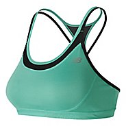 Womens New Balance The Tonic Crop Sport Tops Bras